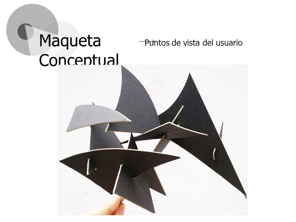 Puntos de vista del usuario Maqueta Conceptual