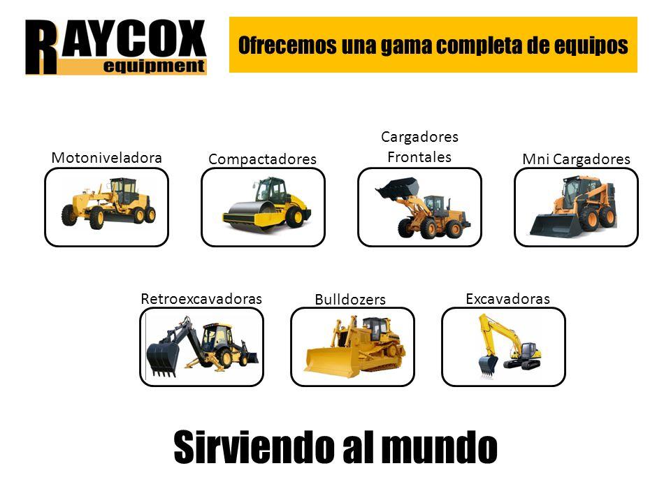 Ofrecemos una gama completa de equipos Motoniveladora Compactadores Cargadores Frontales Mni Cargadores Retroexcavadoras Bulldozers Excavadoras Sirviendo al mundo
