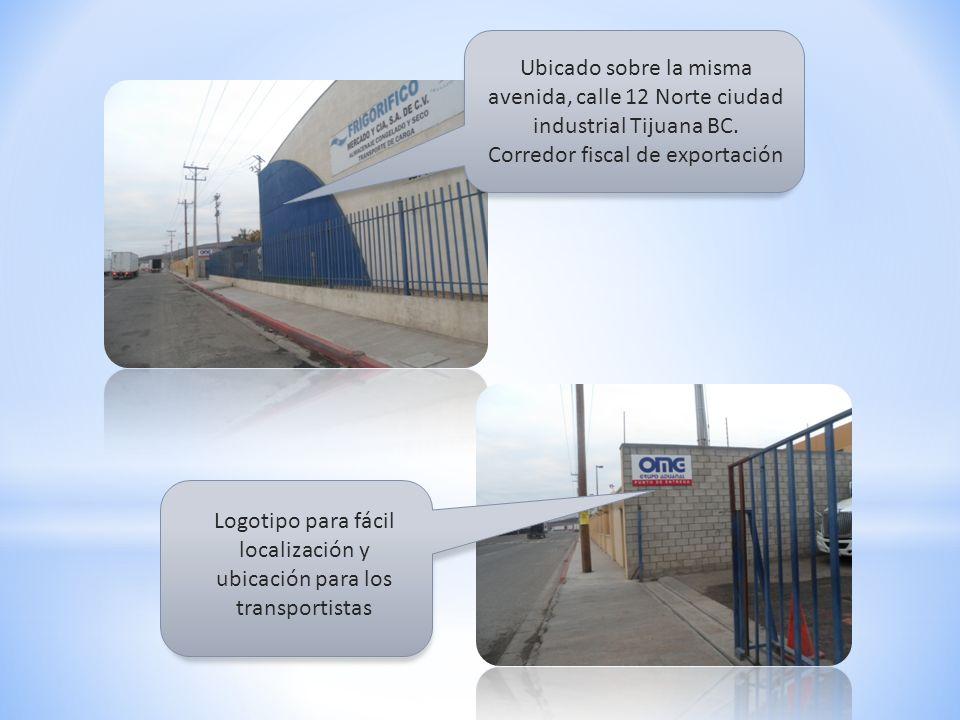 Ubicado sobre la misma avenida, calle 12 Norte ciudad industrial Tijuana BC.