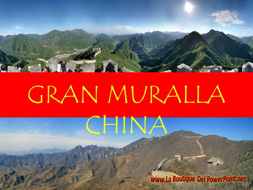 La Gran Muralla China (chino tradicional:, chino simplificado:, pinyin: Cháng Chéng,