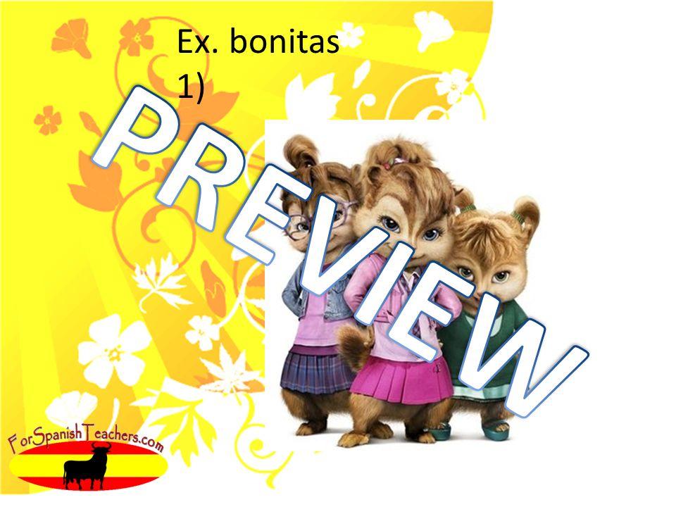 Ex. bonitas 1)