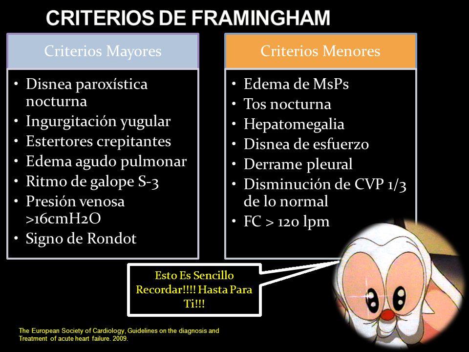 FRACCION DE EYECCION VENTRICULAR IZQUIERDA DSVI The European Society of Cardiology, Guidelines on the diagnosis and Treatment of acute heart failure.