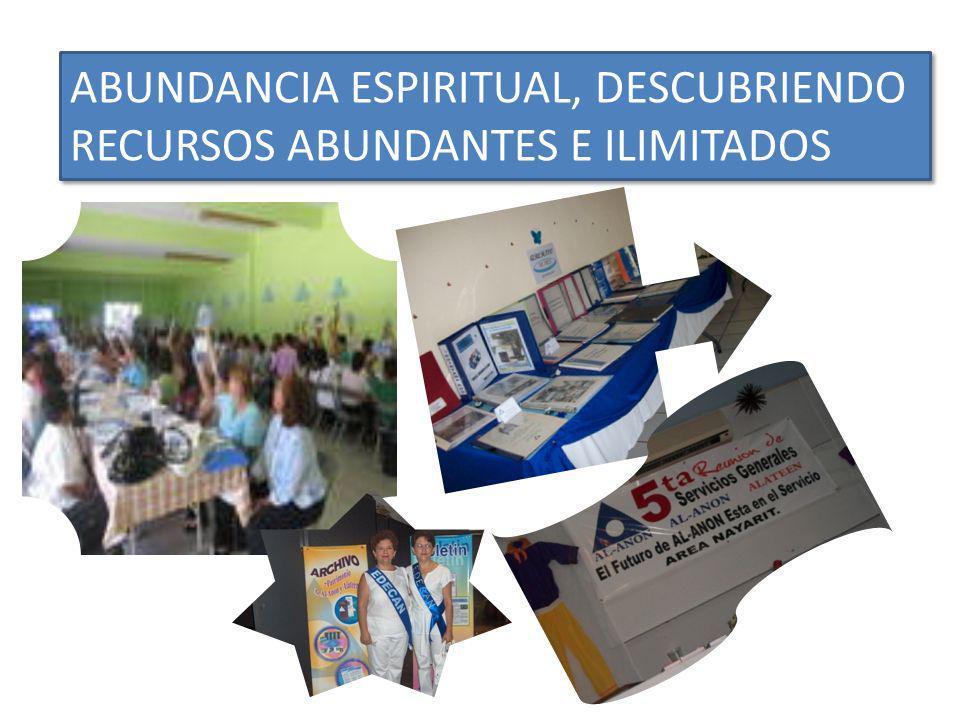 ABUNDANCIA ESPIRITUAL, DESCUBRIENDO RECURSOS ABUNDANTES E ILIMITADOS