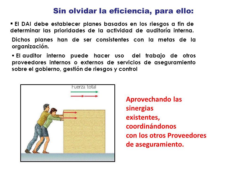 Esdeaplicacióntantoalos individuoscomoalas Sus entidades que provean servicios de auditoría interna.