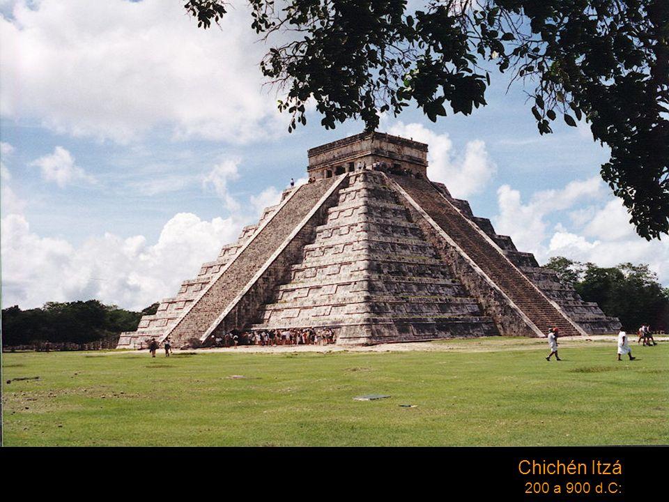 Chichén Itzá 200 a 900 d.C: