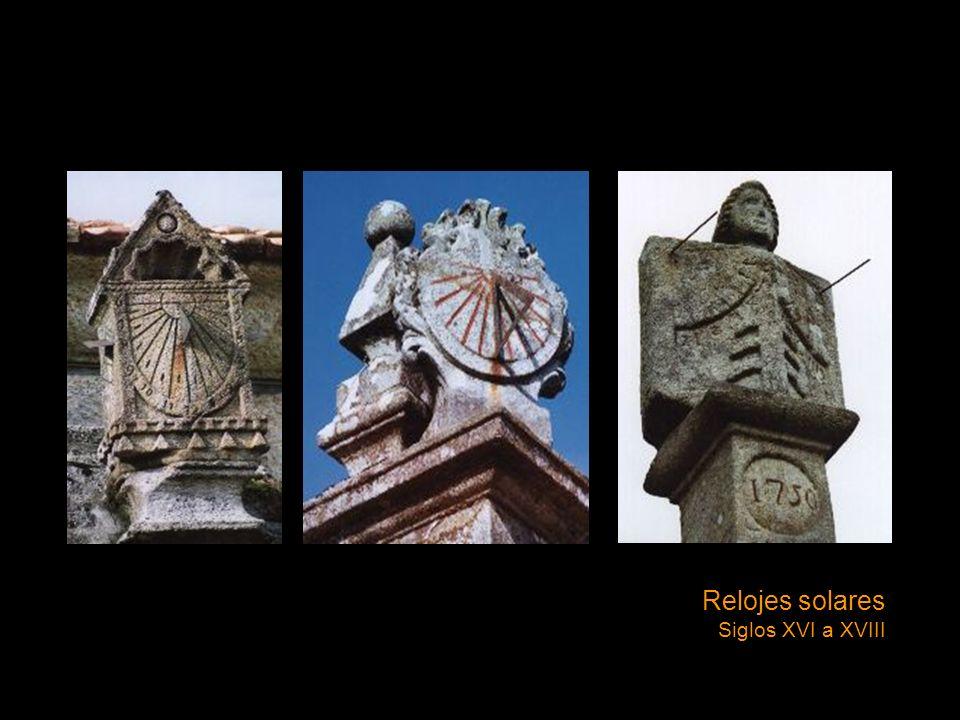 Relojes solares Siglos XVI a XVIII