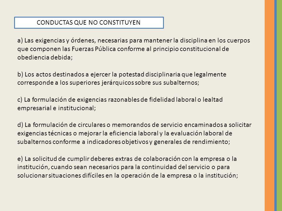 f) Las actuaciones administrativas o gestiones encaminadas a dar por terminado el contrato de trabajo, con base en una causa legal o una justa causa, prevista en el Código Sustantivo del Trabajo o en la legislación sobre la función pública.