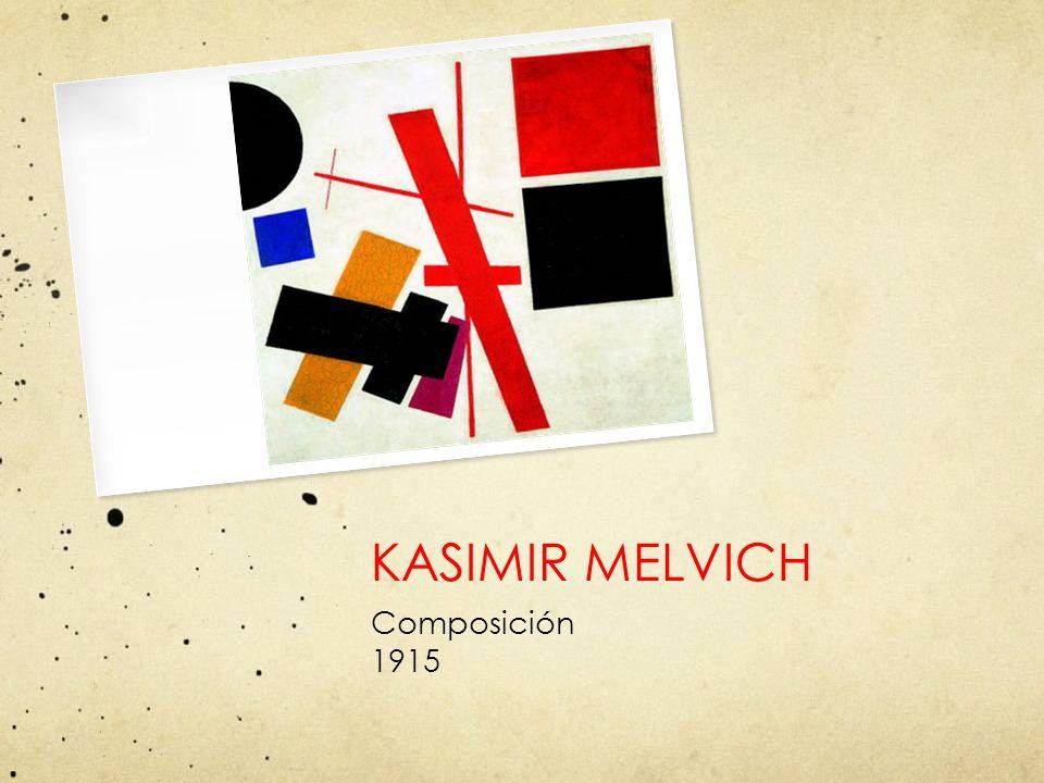 KASIMIR MELVICH Composición 1915