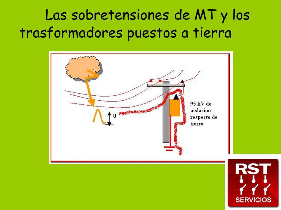 Las sobretensiones de MT y los trasformadores puestos a tierra