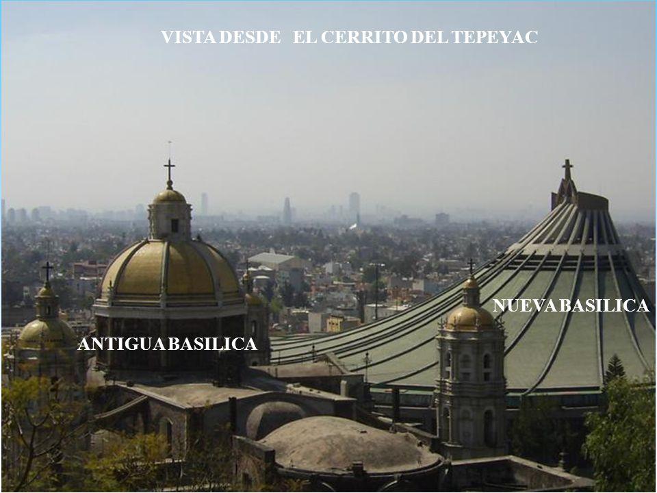 ALTAR DE LA CAPILLA DEL CERRITO DEL TEPEYAC