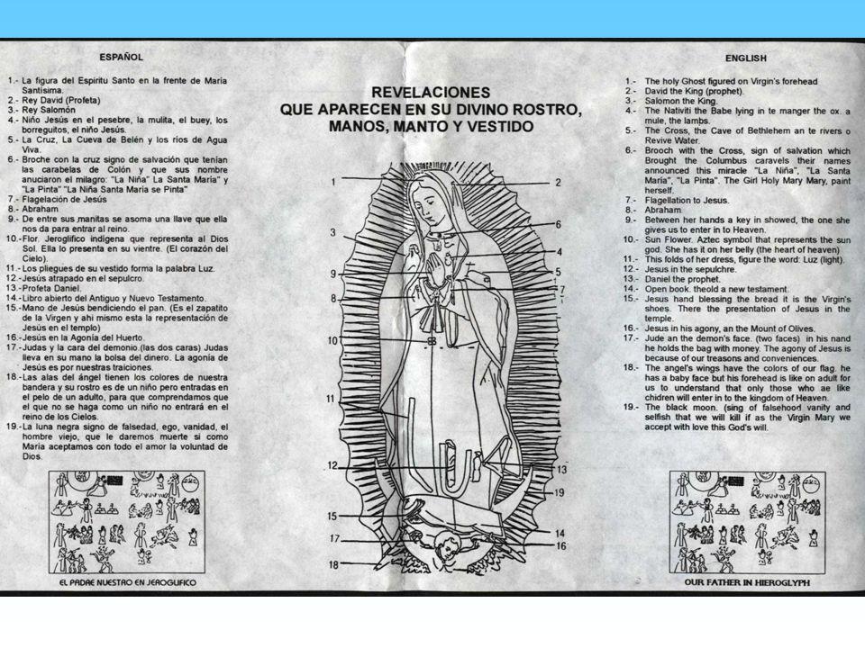 Las 46 estrellas del Manto de la Virgen no estan puestas al azar, sino que corresponden a su posicion en las constelaciones en el solsticio de inviern