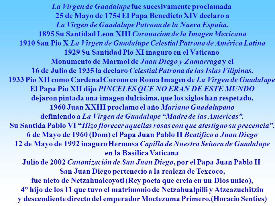 El Nican Mopohua original fue escrito sobre papel hecho de pulpa de maguey, como Los antiguos códices aztecas, utilizando caracteres latinos reconocid