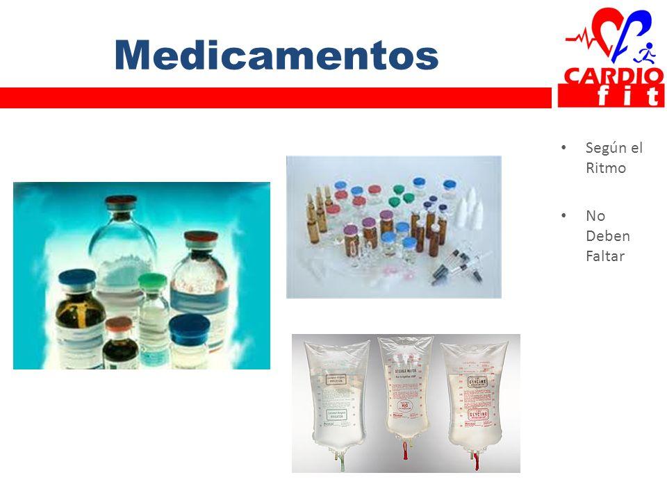 Medicamentos Según el Ritmo No Deben Faltar