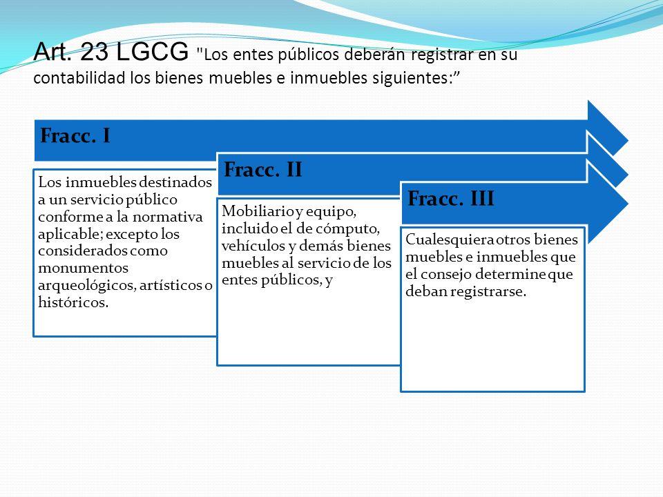 Art. 23 LGCG