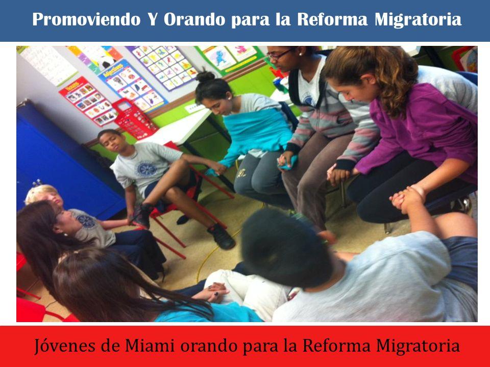 El dia comenzo con un culto de oracion y adoracion Grupo de Oración – Orando para la Reforma Migratoria Promoviendo Y Orando para la Reforma Migratoria