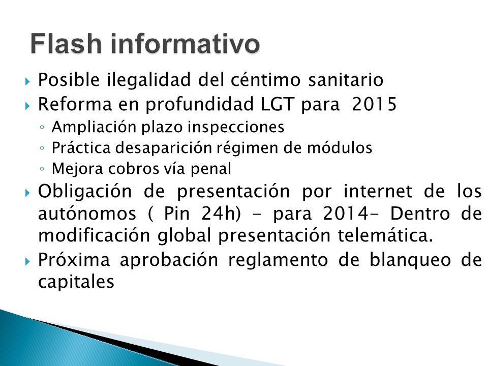 Documento Único Electrónico (DUE)/modelo 036-037 (Modif.