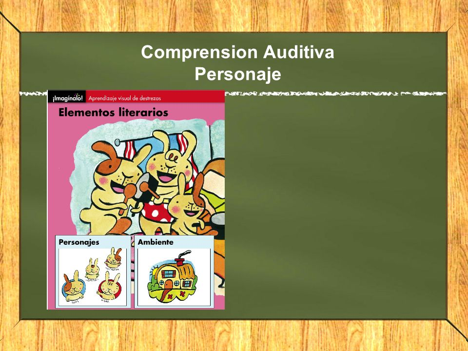 Comprension Auditiva Personaje