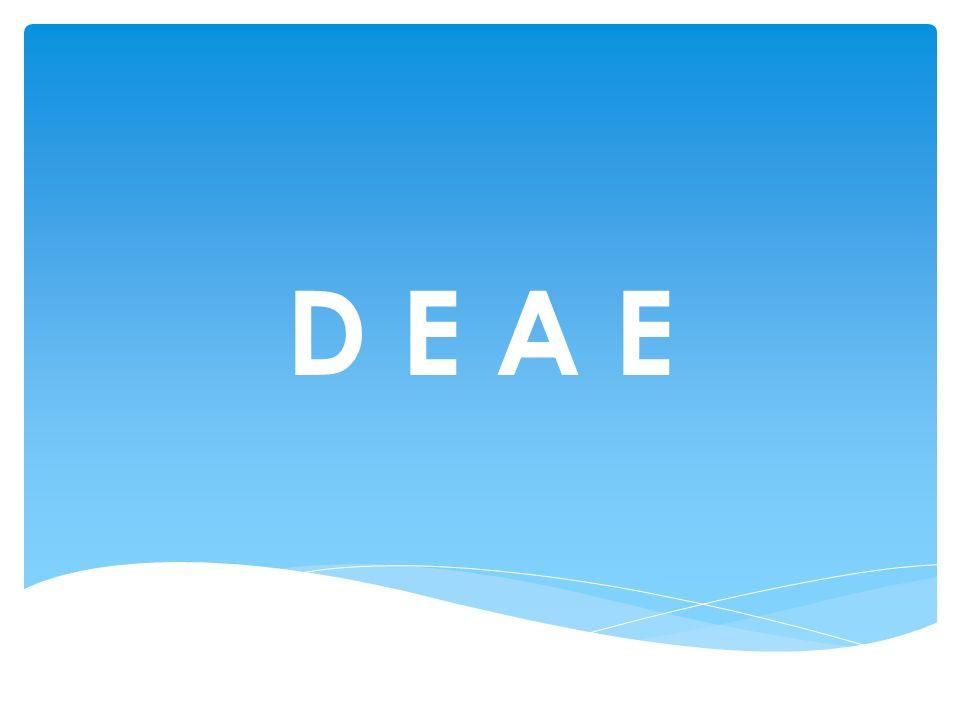 Como enviar? La comunidad hace un gesto concreto de envío D E A E
