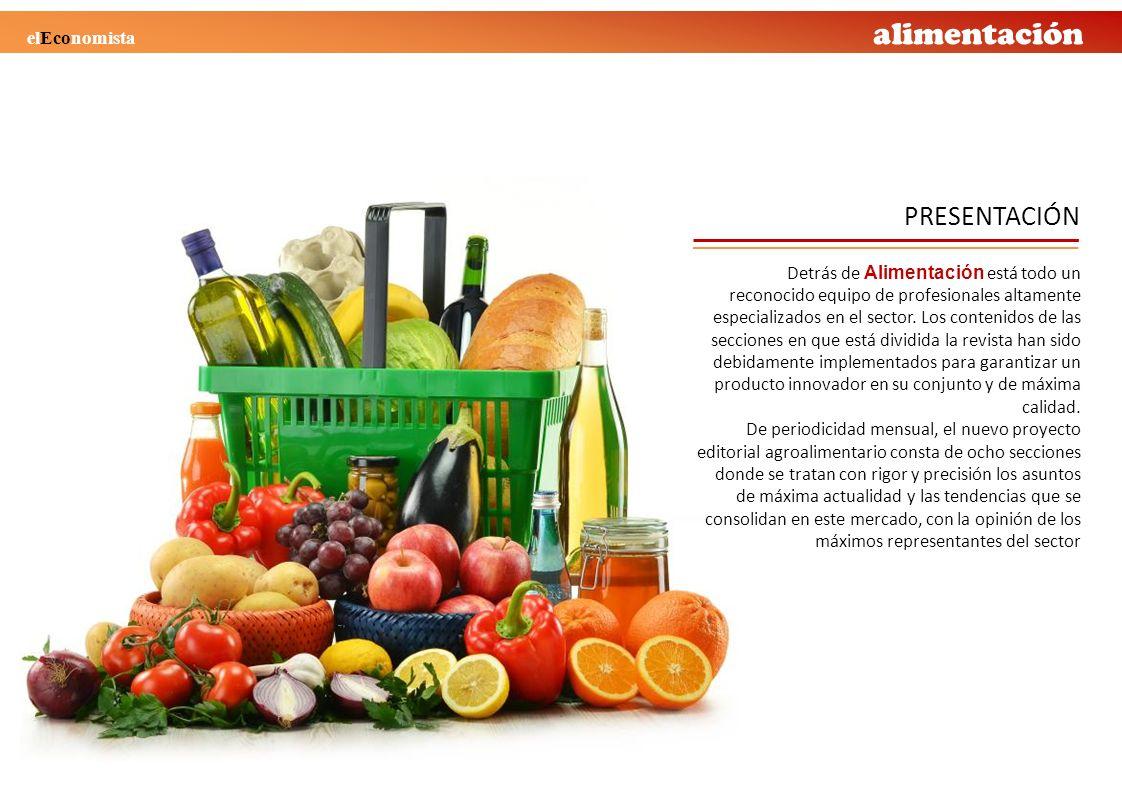 alimentación Detrás de Alimentación está todo un reconocido equipo de profesionales altamente especializados en el sector. Los contenidos de las secci