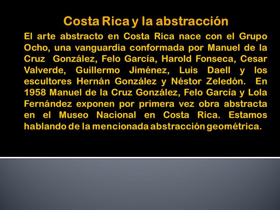 Costa Rica y la abstracción