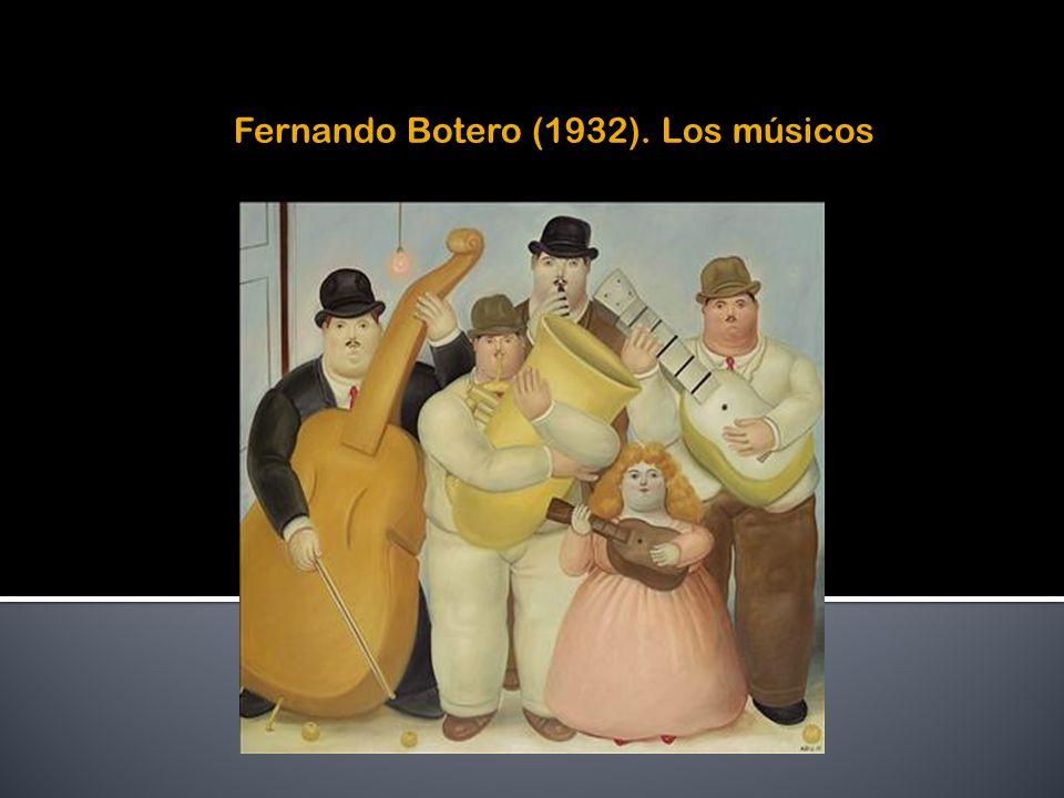 Fernando Botero (1932). Los músicos