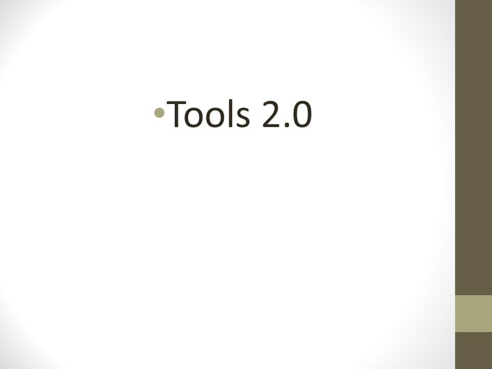 Tools 2.0