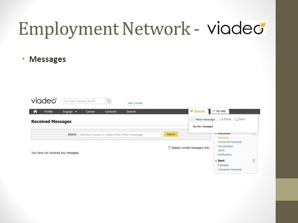 Messages Employment Network -