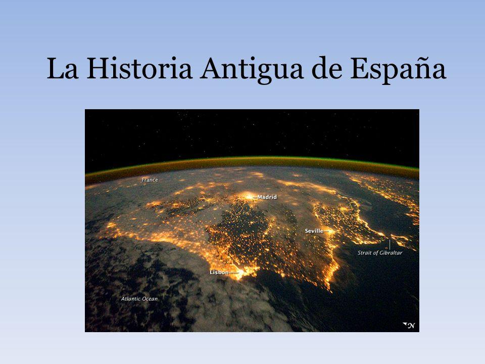 Los íberos Eran los primeros habitantes de la península.