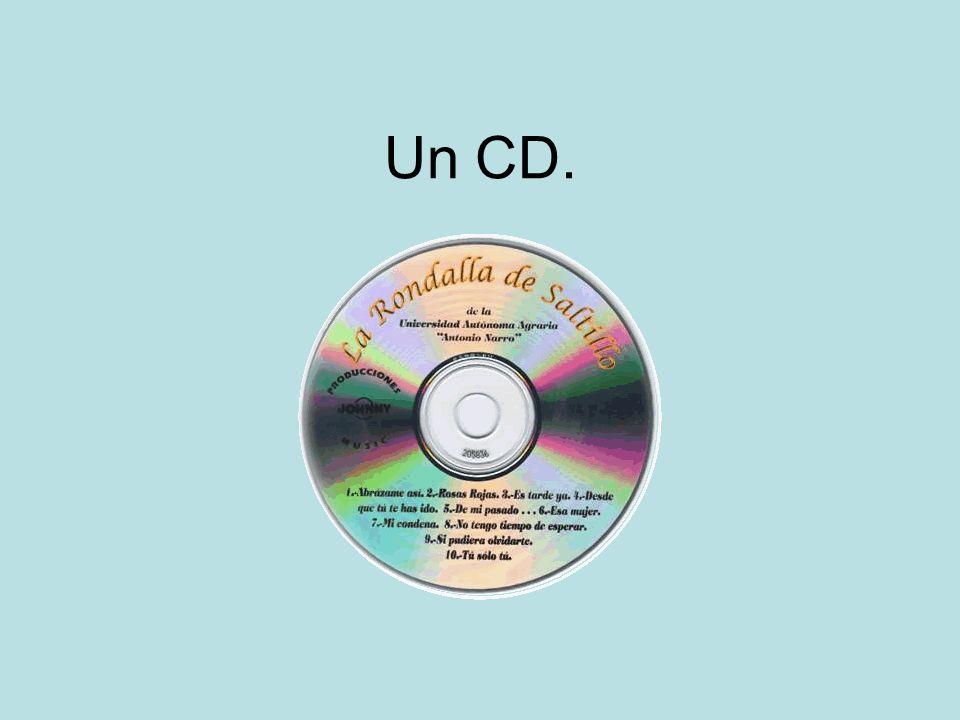 Un CD.