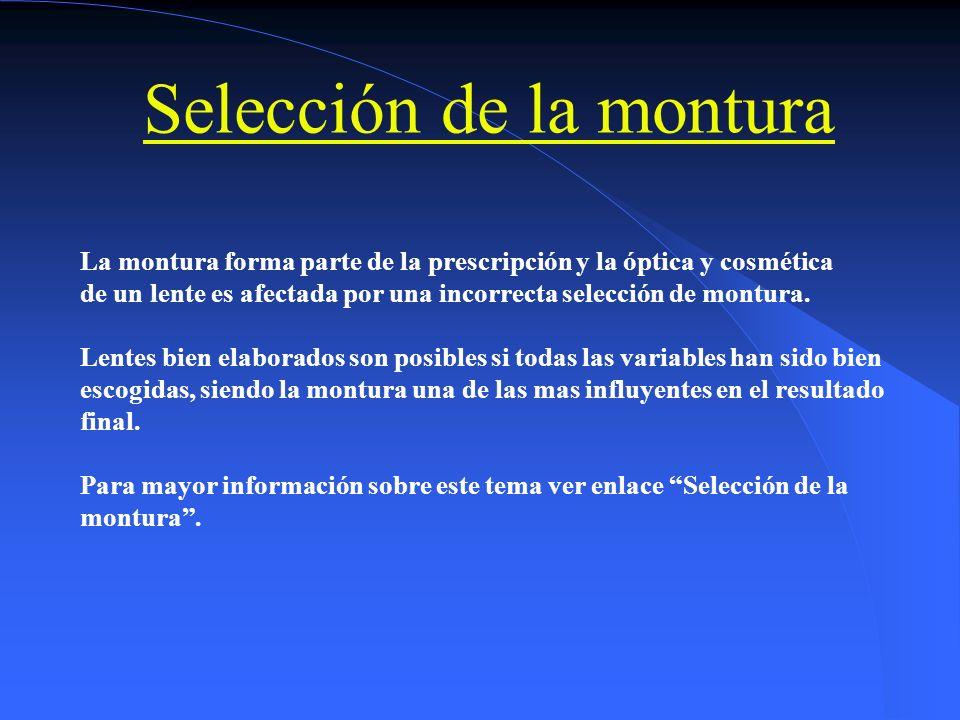 ALTURA PARA BIFOCAL MEDIDA Y VERIFICACIÓN MEDICIÓNVERIFICACIÓN INCORRECTO CORRECTO