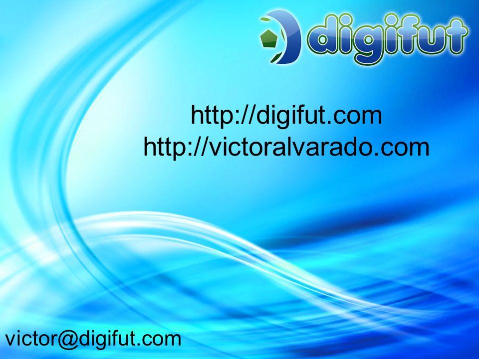 http://digifut.com http://victoralvarado.com victor@digifut.com