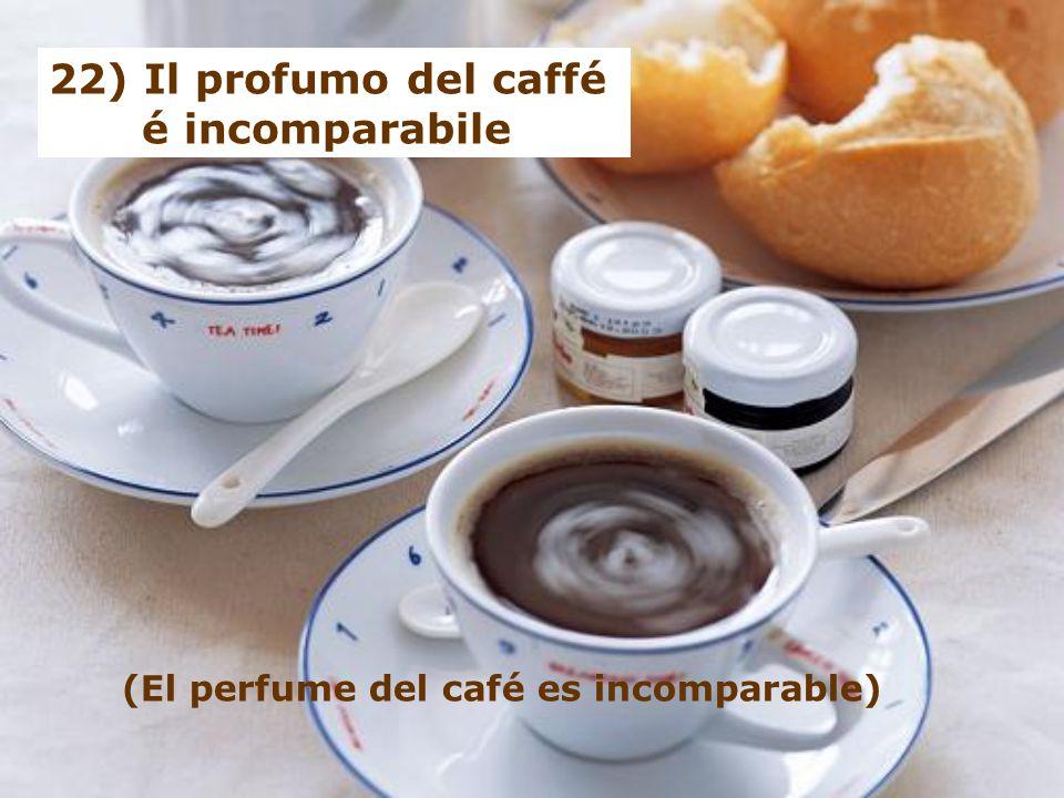 21) Il caffé é il migliore compagno di progetti e utopie (El café es el mejor compañero de proyectos y utopías)