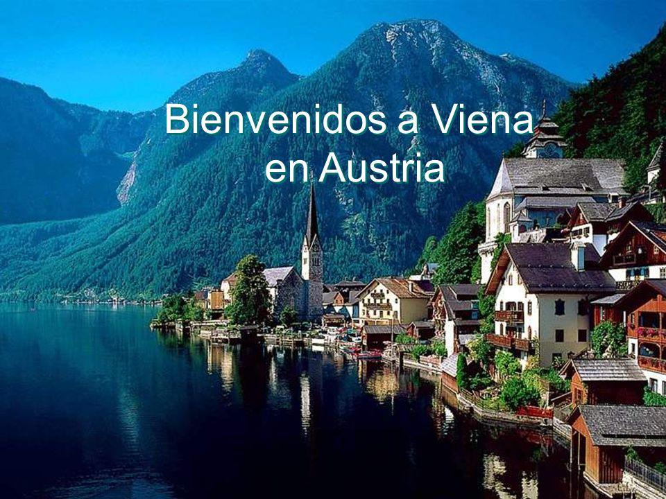 Bienvenidos a Viena en Austria Bienvenidos a Viena en Austria