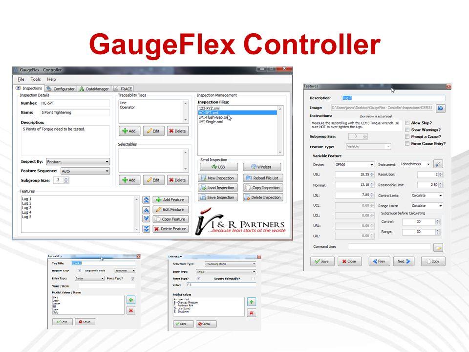 GaugeFlex Controller