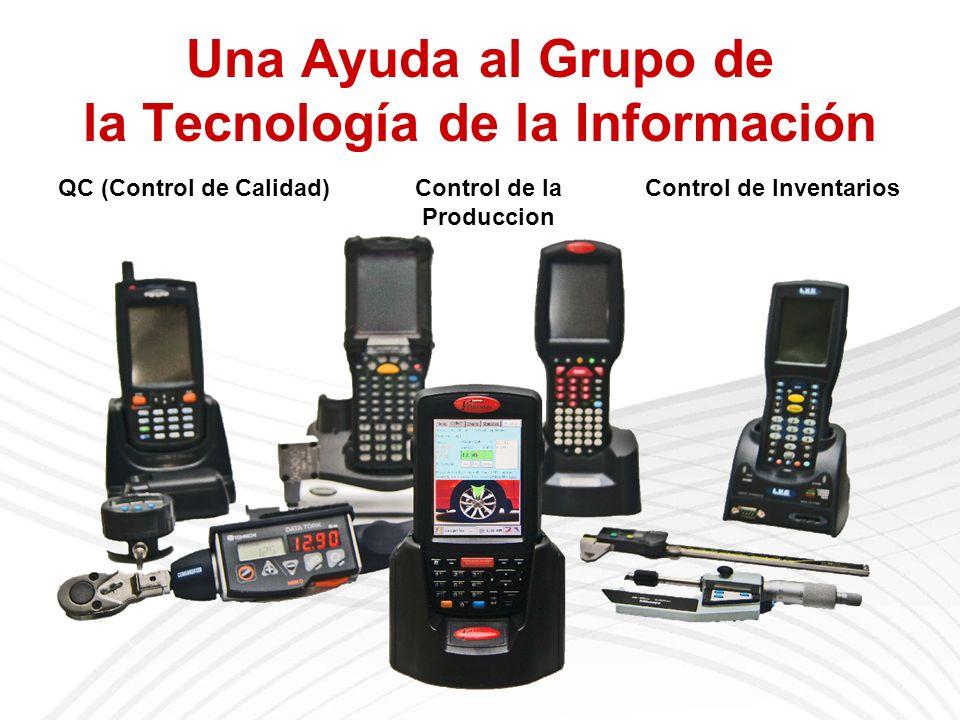 Una Ayuda al Grupo de la Tecnología de la Información QC (Control de Calidad)Control de la Produccion Control de Inventarios