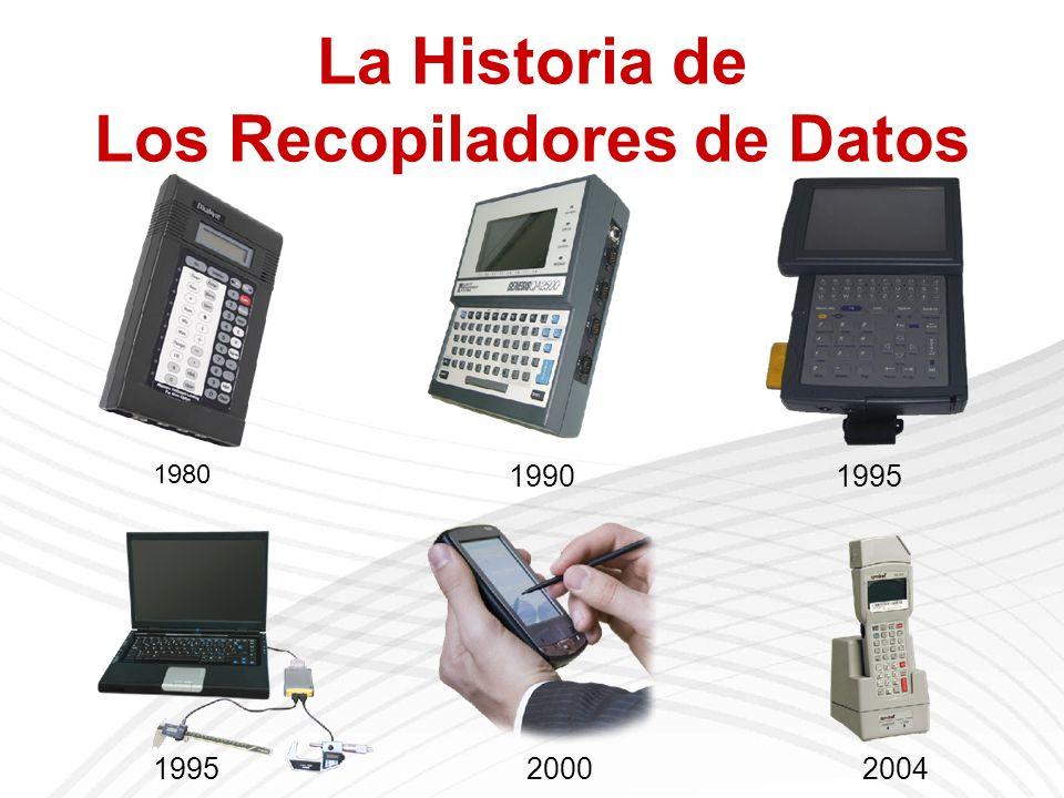 La Historia de Los Recopiladores de Datos 1980 19901995 20002004