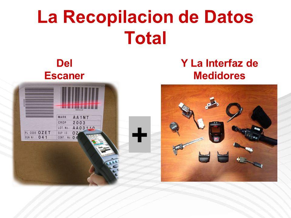 La Recopilacion de Datos Total Del Escaner Y La Interfaz de Medidores +