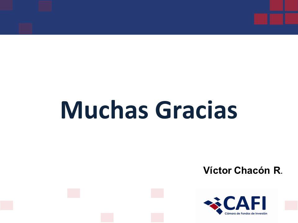 Muchas Gracias Víctor Chacón R.