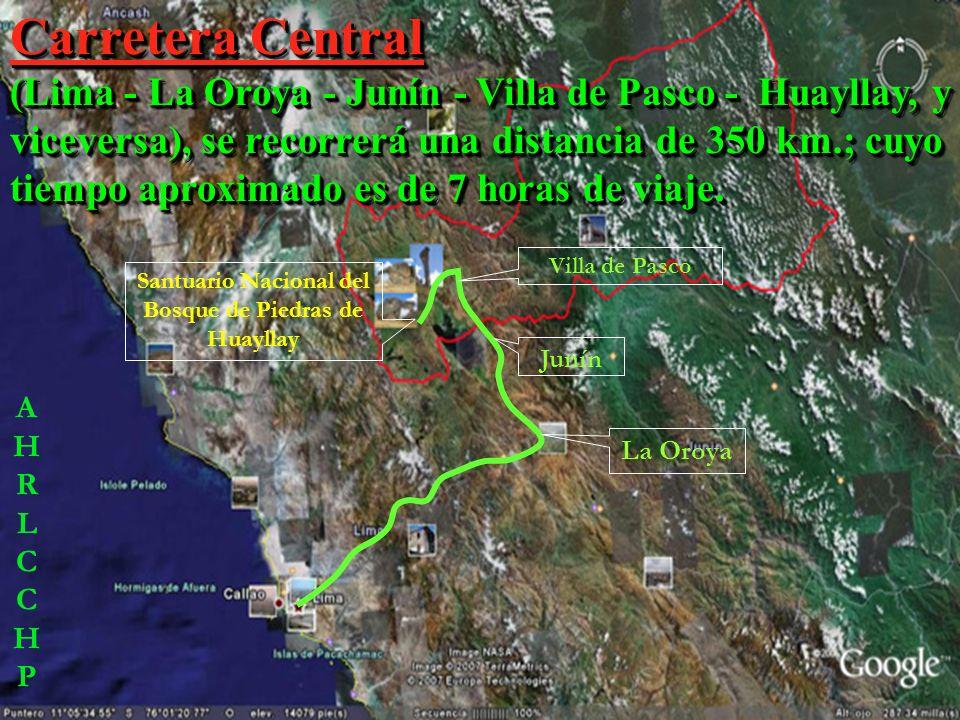 SEXTO Cuenta con tres vías alternativas terrestres, partiendo desde la ciudad de Lima; y una vía aérea. SEXTO Cuenta con tres vías alternativas terres