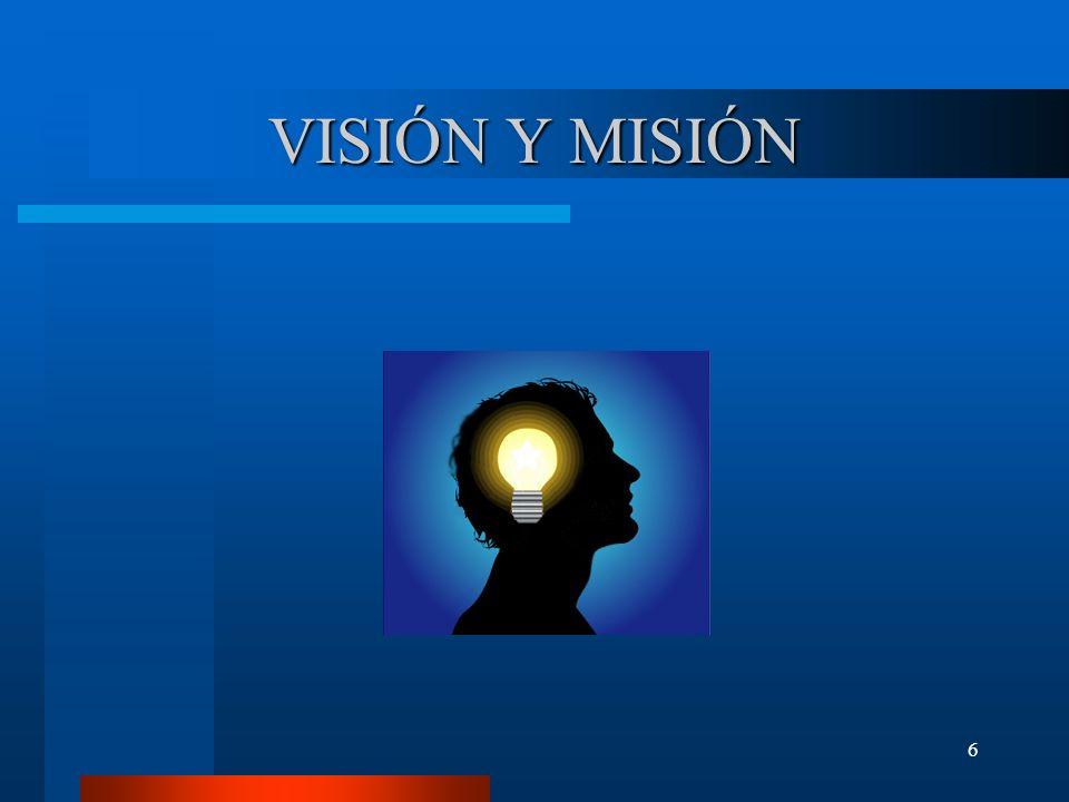 6 VISIÓN Y MISIÓN