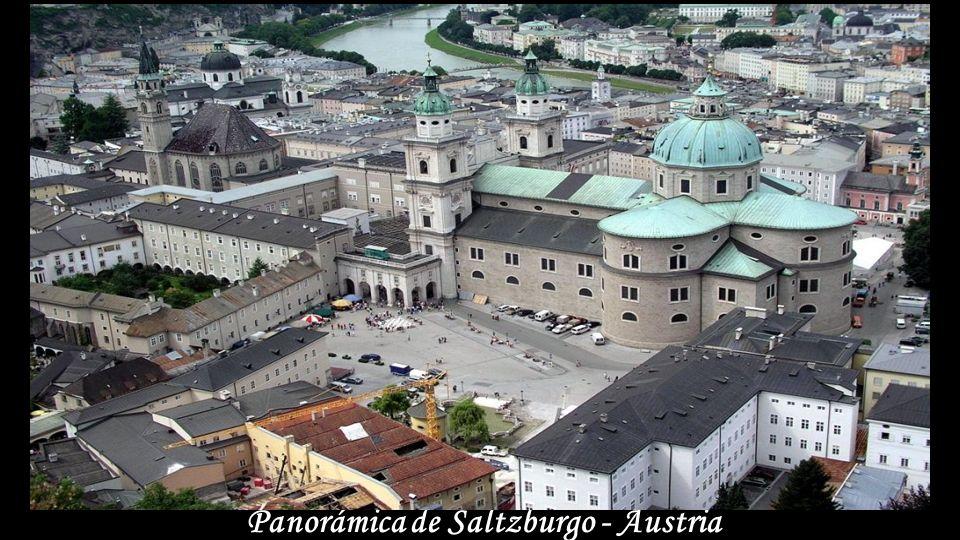 Pueblo en el Danubio