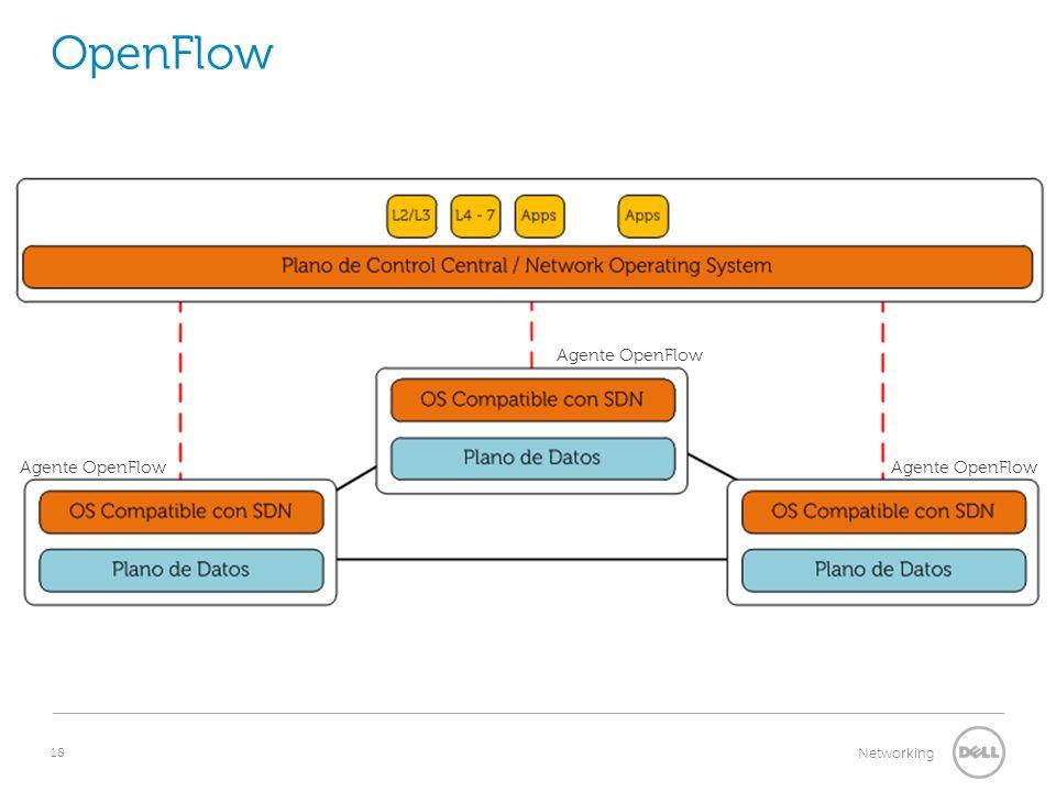 18 Networking OpenFlow Agente OpenFlow