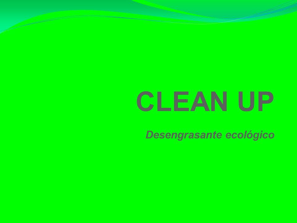 CLEAN UP Desengrasante ecológico