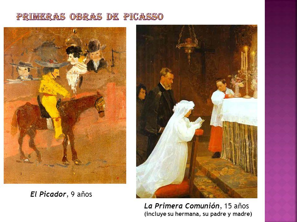 El Picador, 9 años La Primera Comunión, 15 años (incluye su hermana, su padre y madre)