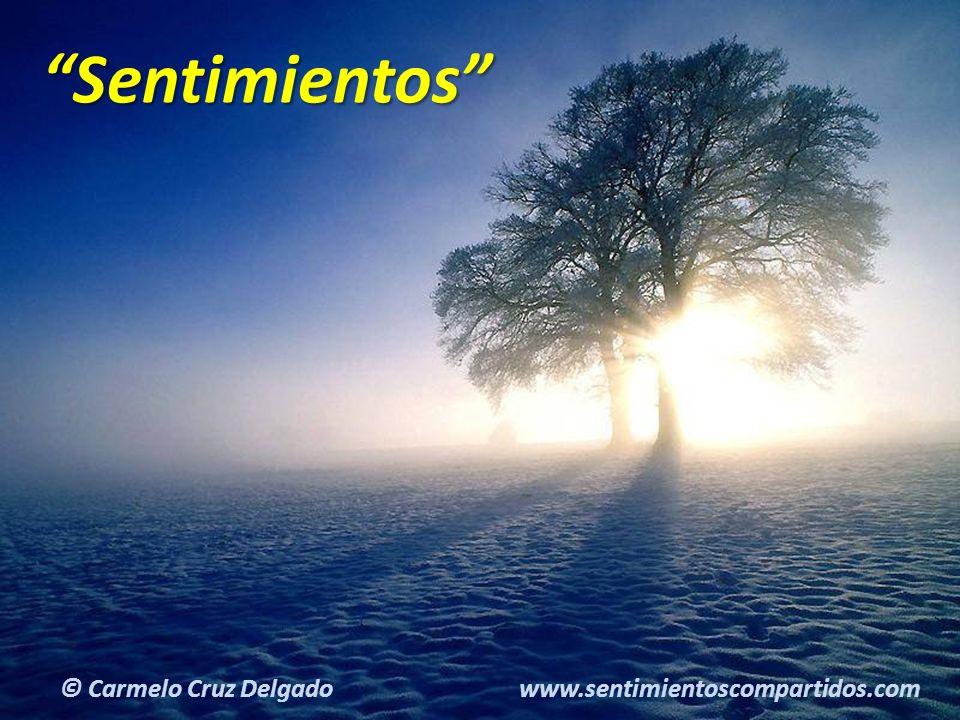 2(c) carMELOS Cruz Delgado Ciencia y Espiritualidad Sentimientos © Carmelo Cruz Delgado www.sentimientoscompartidos.com
