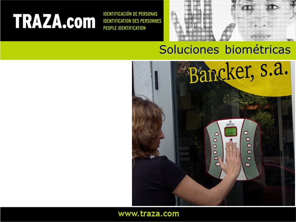 Soluciones biométricas