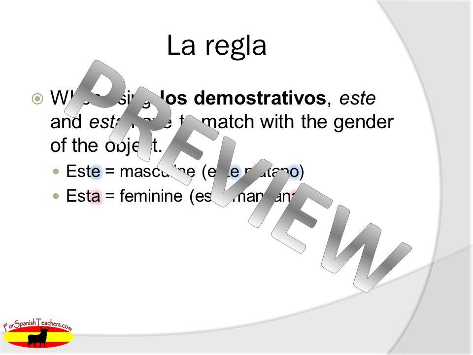 Práctica 1. Est__ mango 2. Est__ sandía e a