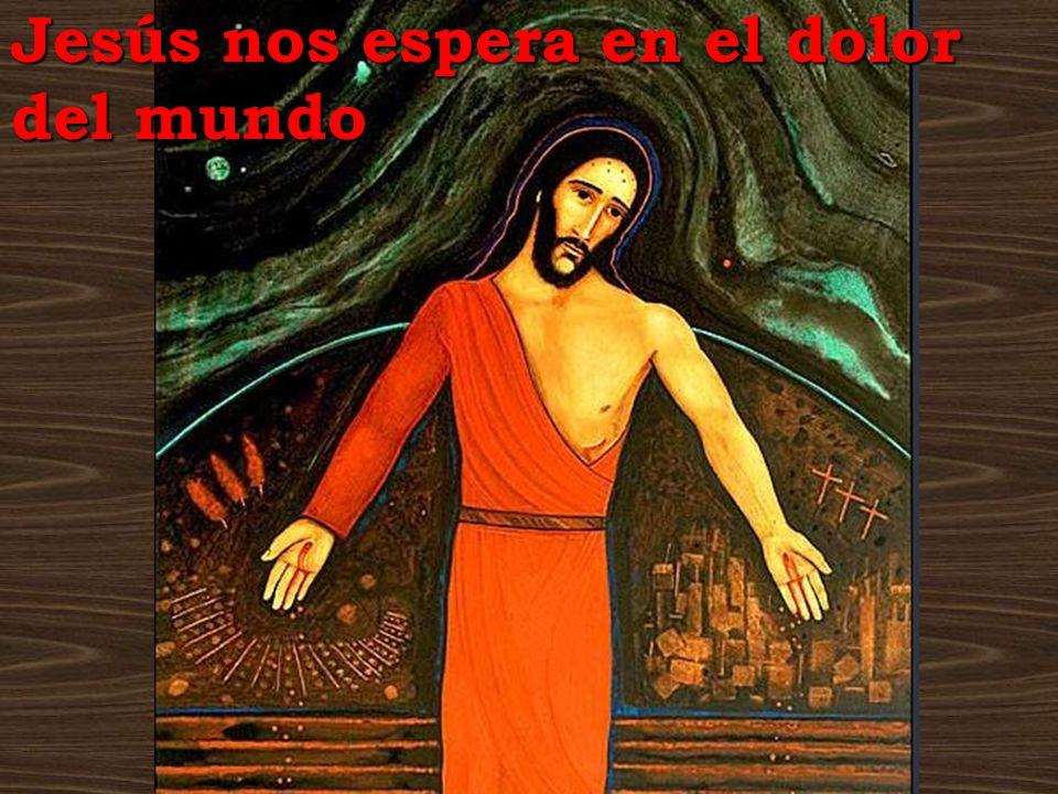 Jesús nos espera en el dolor del mundo