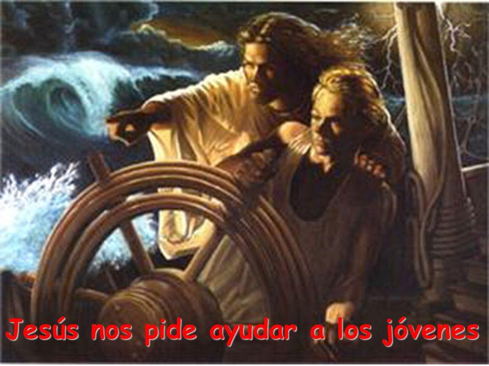 Jesús nos pide ayudar a los jóvenes