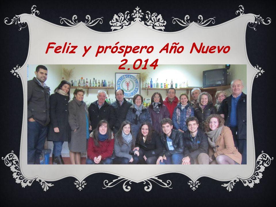 Feliz y próspero Año Nuevo 2.014